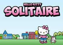 Игра Hello Kitty: пасьянс