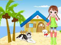 Игры девочек домик животных
